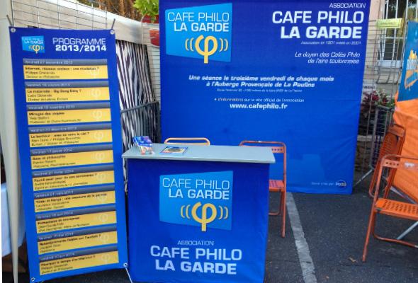[Photos] Le Café Philo au Forum des Associations 2013