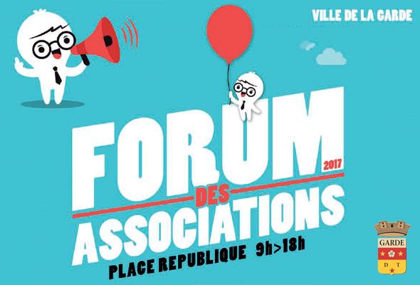 Le Café Philo La Garde au Forum des Associations le 10 septembre