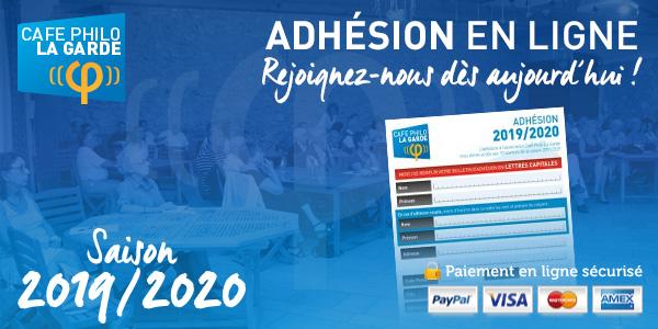 Adhésion 2019/2020